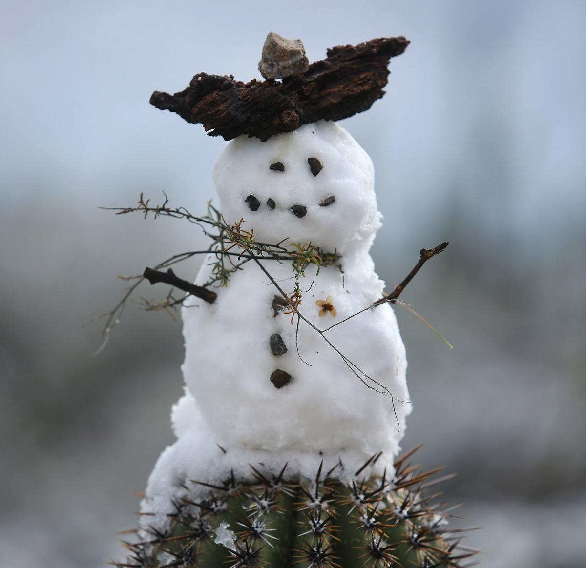 Snow in Southern Arizona