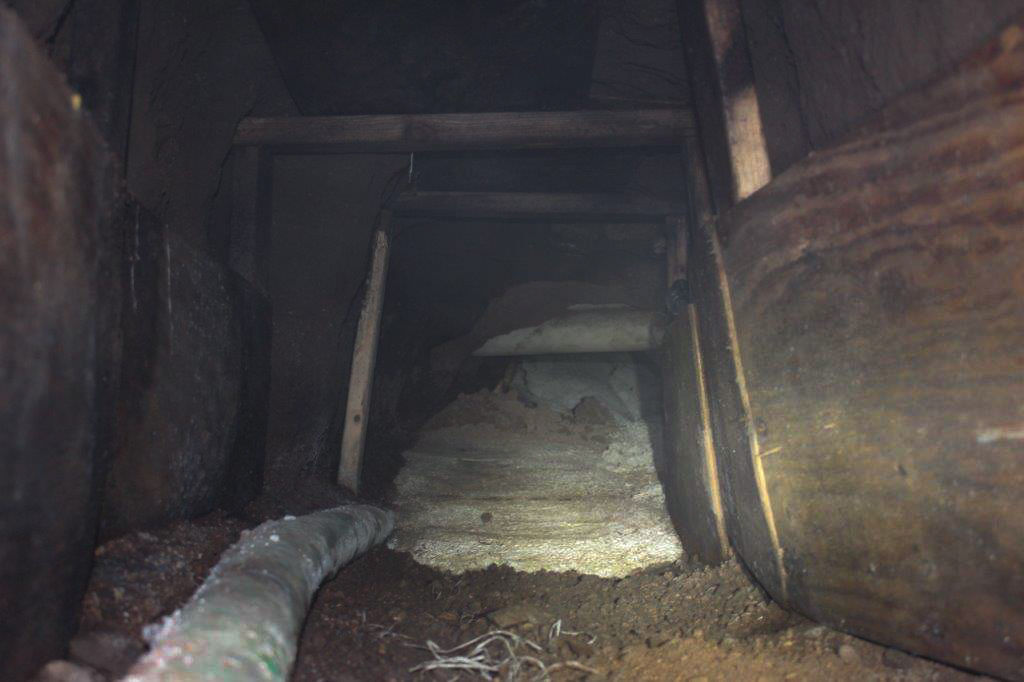 Incomplete Illicit Cross-Border Tunnel Discovered in Nogales