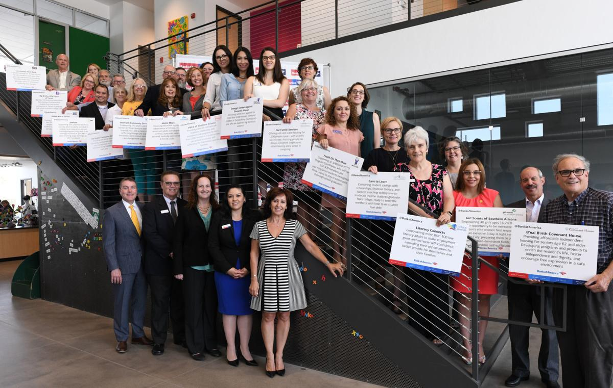 Bank of America grant recipients