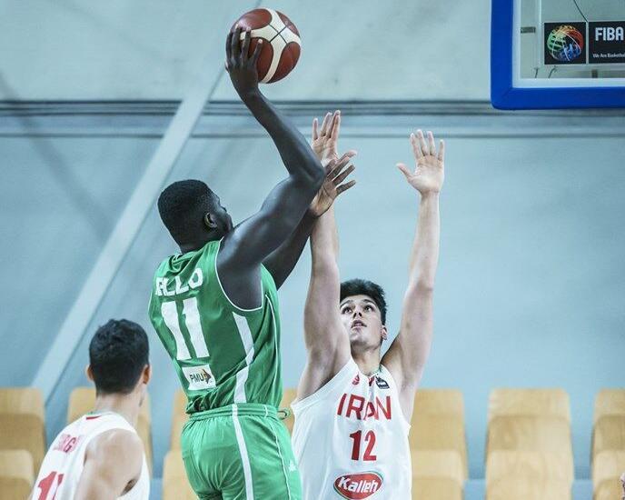 Oumar Ballo vs Iran