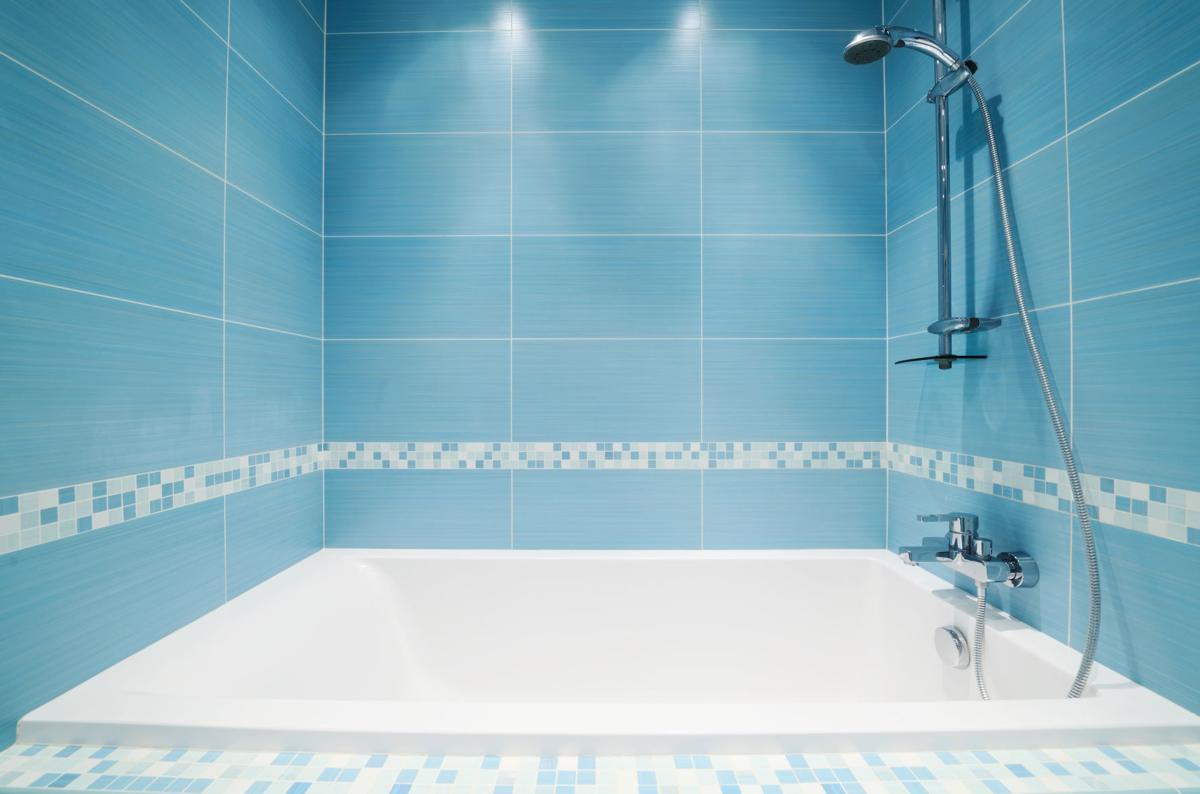 hot water shower fixture