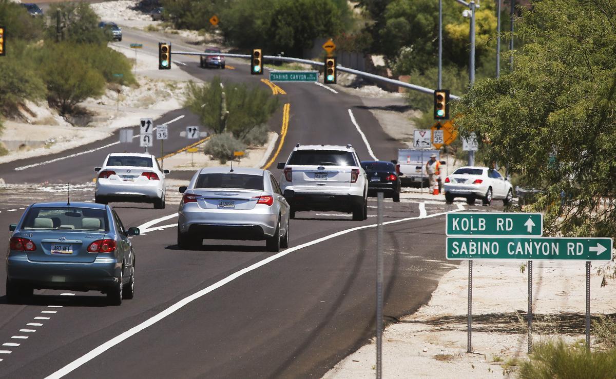 Sabino Canyon Road