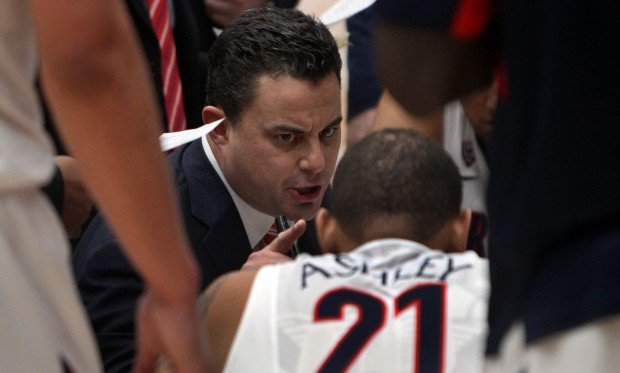 College basketball: Utah at Arizona