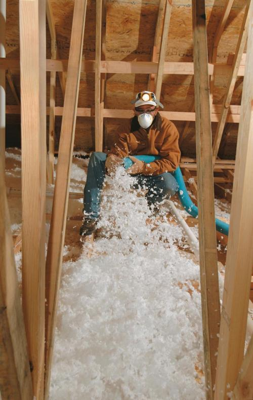 Should You Roll in New Insulation in Your Attic or Blow It In?