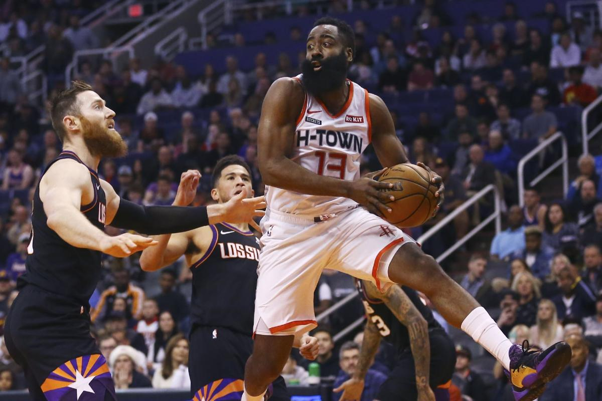 Rockets Suns Basketball