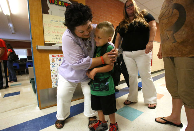 TUSD/ Marshall Elementary's first day