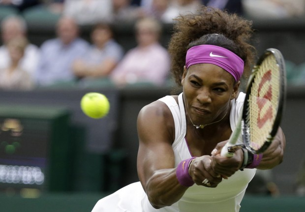 Serena two wins away