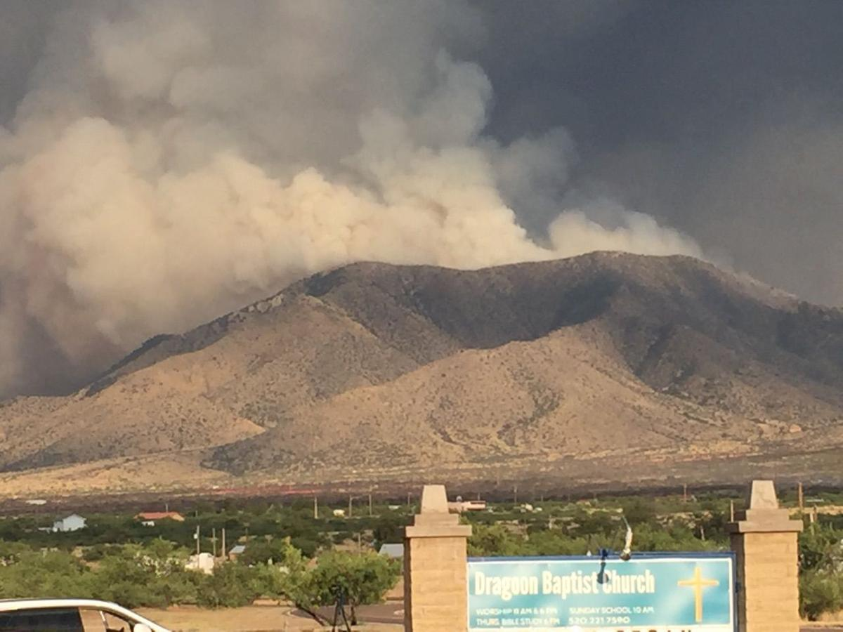 Arizona cochise county cochise - The Lizard Fire In The Dragoon Mountains Destroyed One House In An Area That Was Evacuated Wednesday Night Said Carol Capas A Cochise County Sheriff S