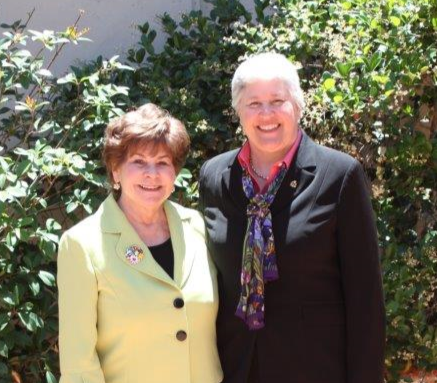 Pima County Attorney Barbara LaWall and Assistant U.S. Attorney Christina Cabanillas