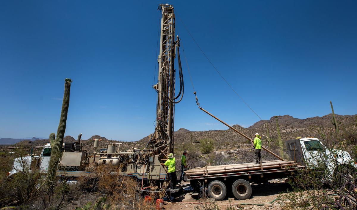New water well, Marana