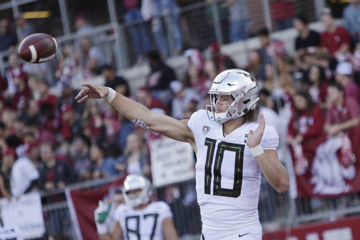 Oregon Washington St Football