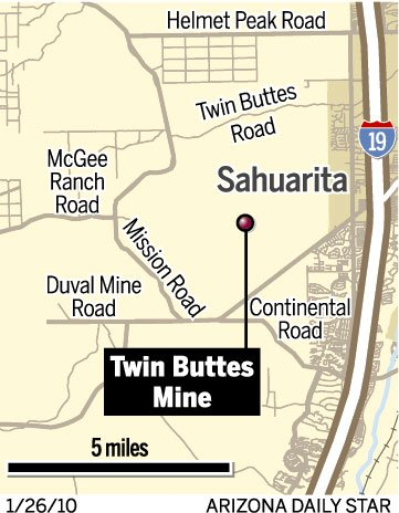 Twin Buttes Mine