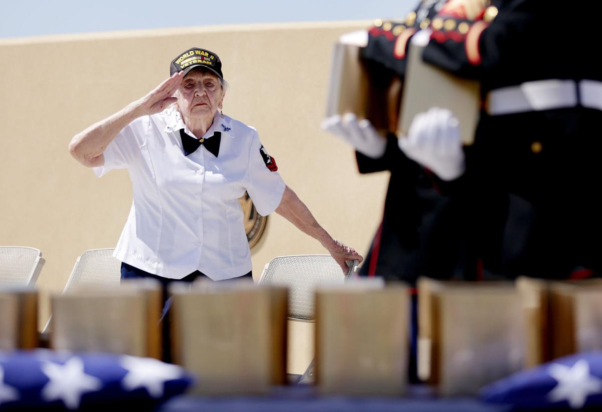Military veterans interred in Marana