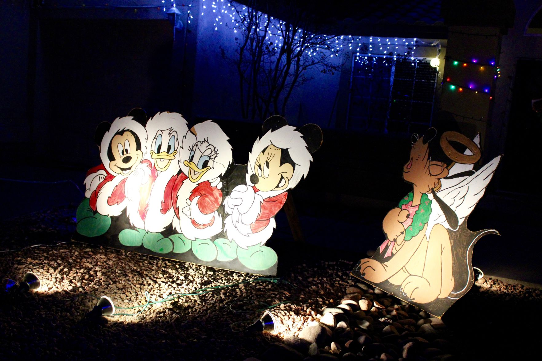 This Northwest Tucson Neighborhood Combines Disney And Christmas Lights For  Pure Magic