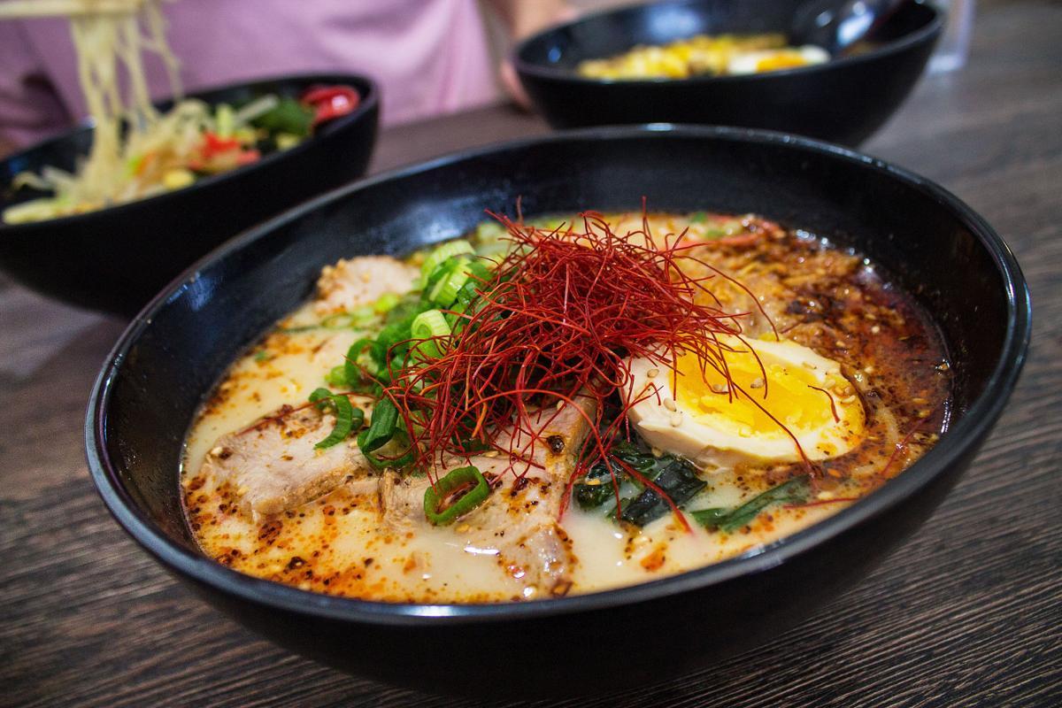 Raijin Ramen spicy tonkotsu