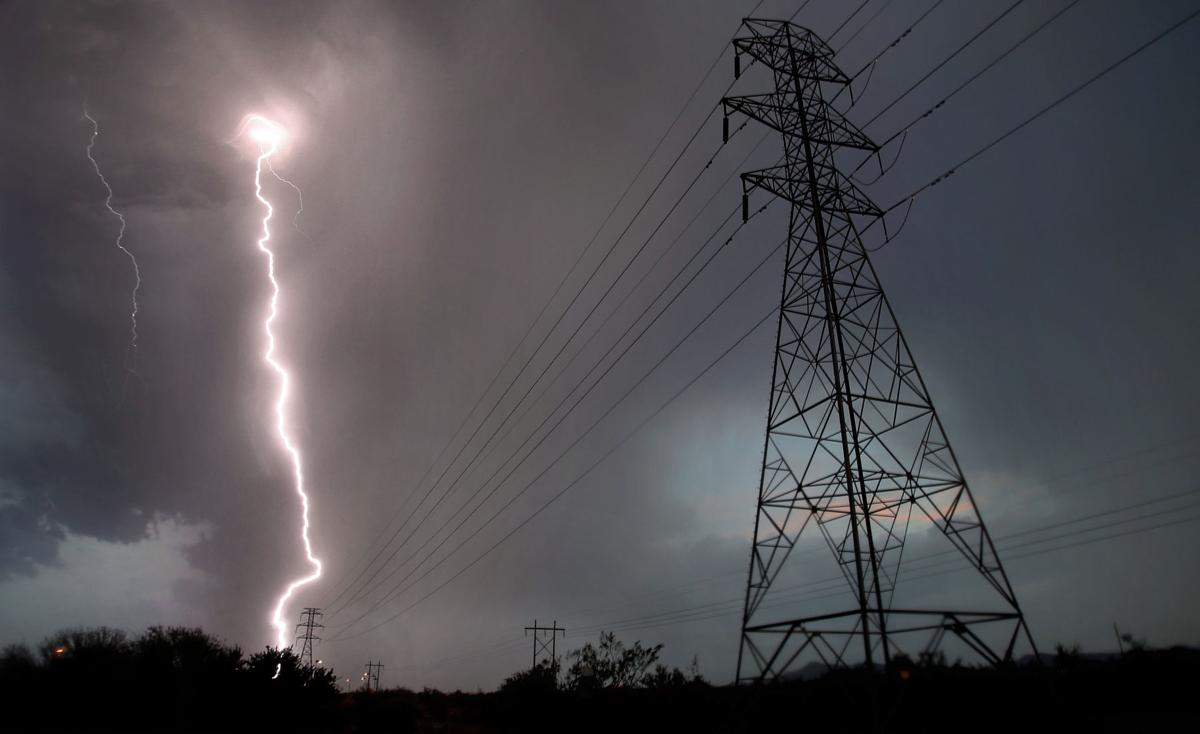 Storms around Tucson