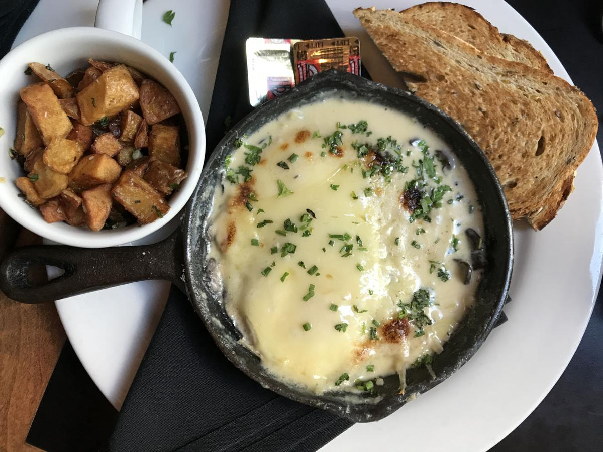 The Cup Cafe's baked eggs at Hotel Congress