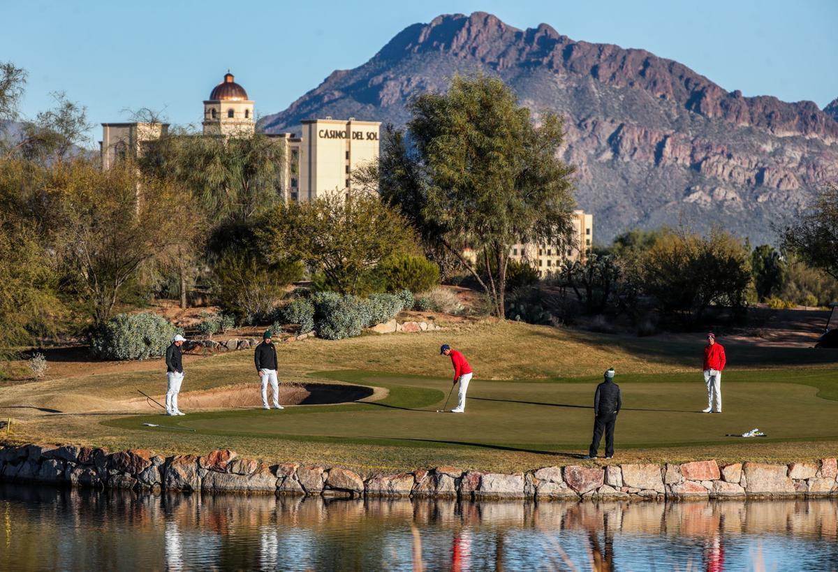University of Arizona golf
