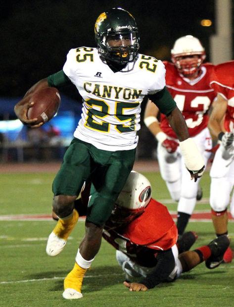 Big man on campus: Canyon del Oro's Top 10: Ka'Dream career: Carey ran to glory