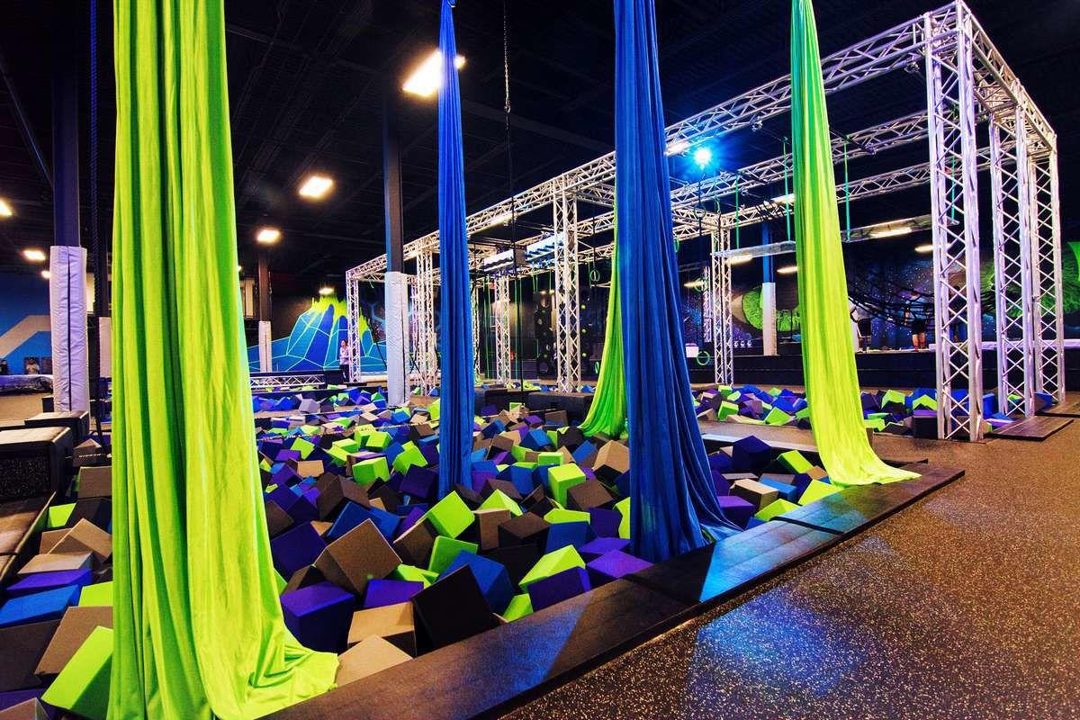 New Trampoline Park Indoor Entertainment Center Is Coming