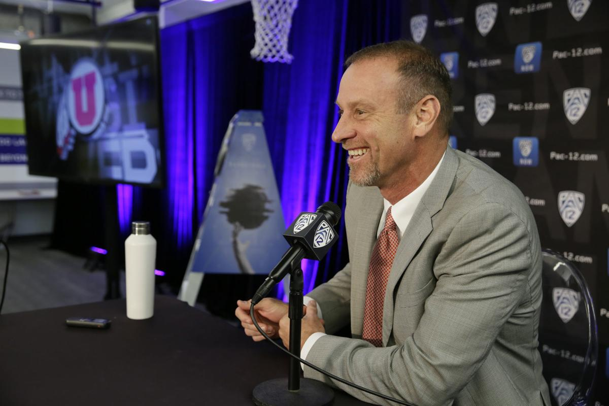 Pac 12 Media Day Basketball