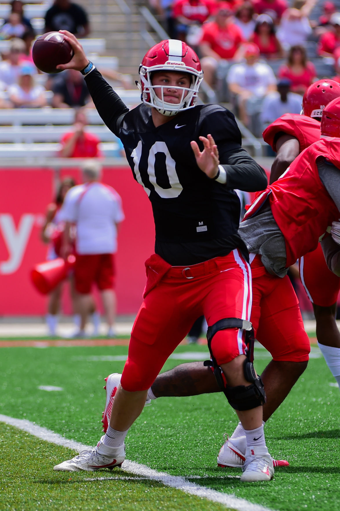 COLLEGE FOOTBALL: APR 15 Houston Spring Game