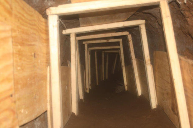 Smuggling tunnel