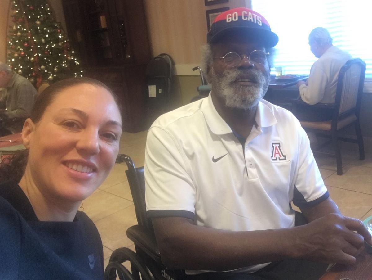 Arizona coach Adia Barnes finally got to know her father; then she lost him