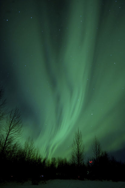 Northern lights give a big boost to Alaska tourism