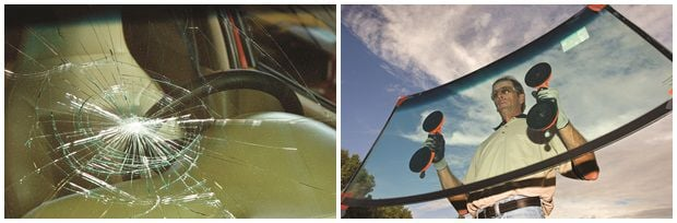 We offer auto glass repair and replacements