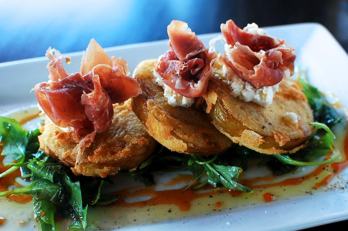 Commoner & Co.'s fried green tomatoes
