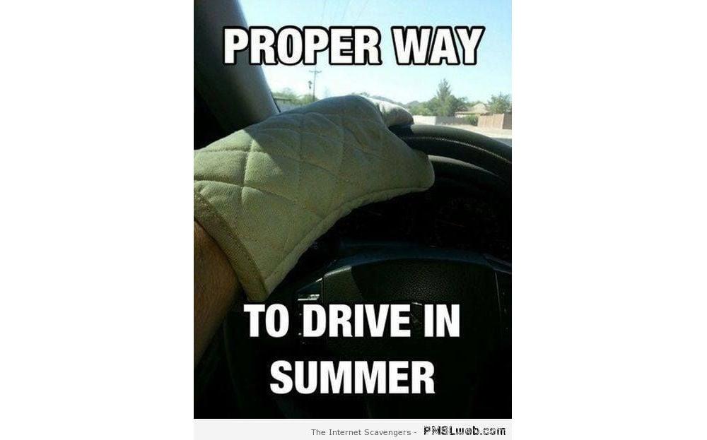 Summer heat memes