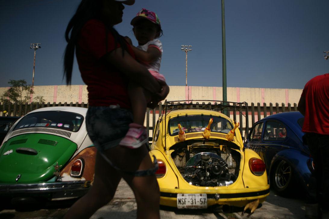 APTOPIX Mexico VW Beetles Photo Gallery