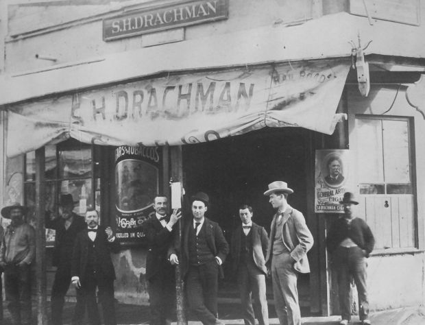 Once member of Confederate army, Drachman prospered as tobacconist