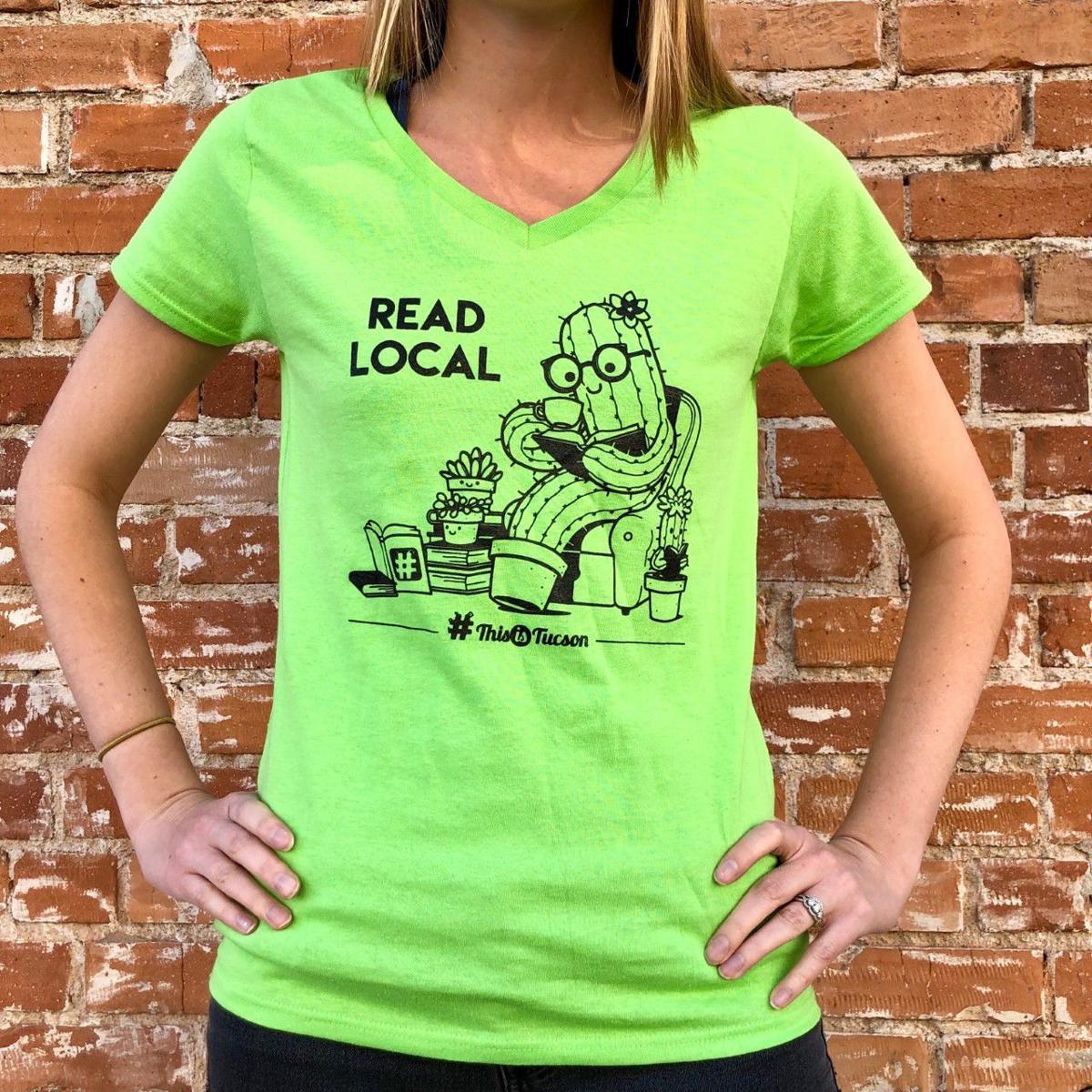 Read Local shirt