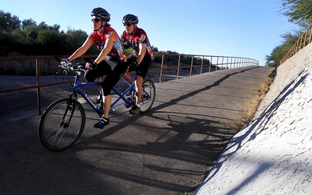 Patrick Finley: Legally blind bicyclist, wife on a life journey built for two