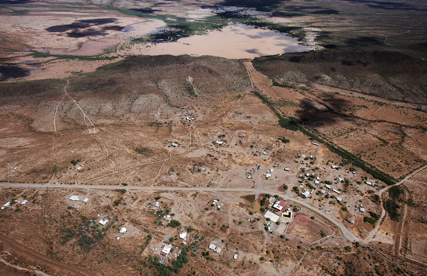 Evacuations lifted after flooding on Tohono O'odham Nation | Tucson.com
