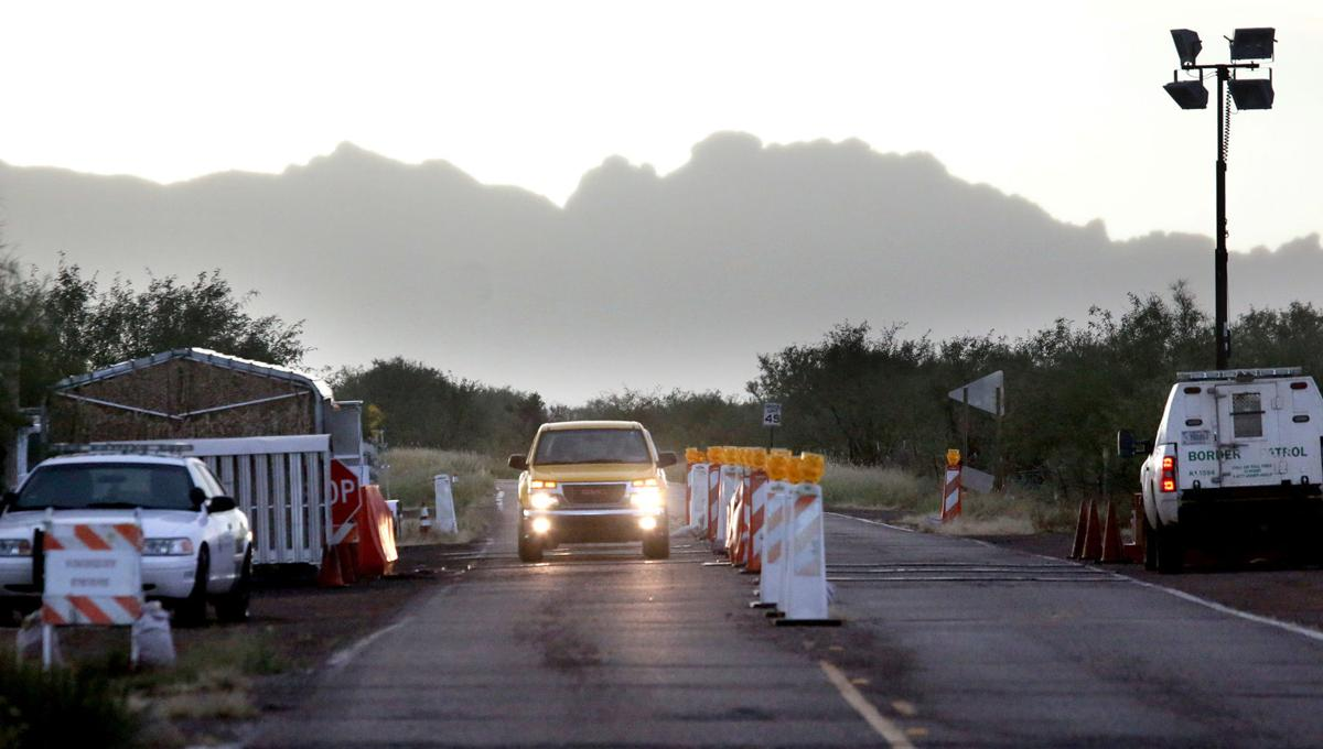 Customs and Border Protection checkpoint