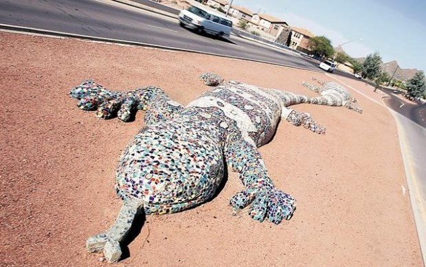 Tucson Oddity Monstrous Sculptures Are Sights For Sore