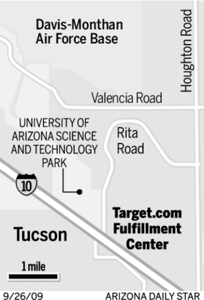 Target Fulfills Online Orders Through New Tucson Center Business News Tucson Com