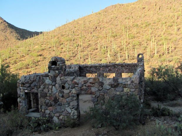 Stone House in Tucson Mountains