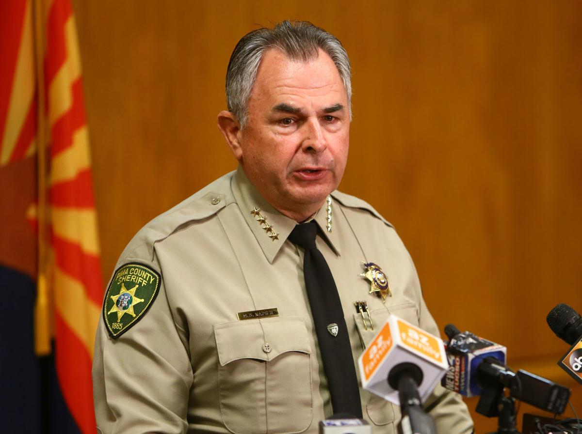 Pima County Sheriff Mark Napier