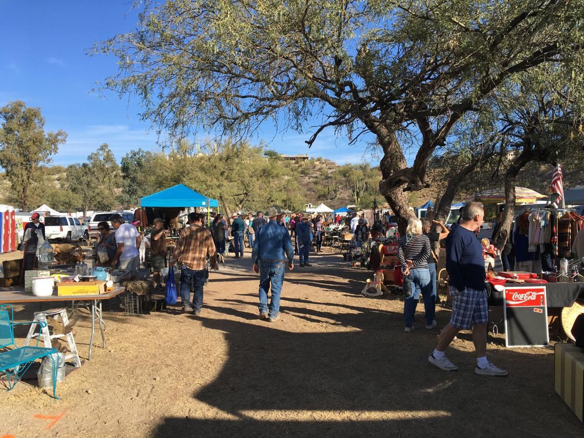 Antique/vintage fair at Medella Vina Ranch