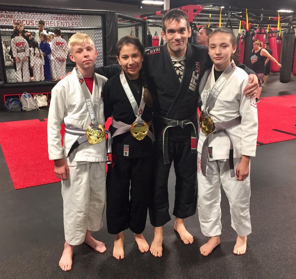 Brazilian jiu jitsu champions