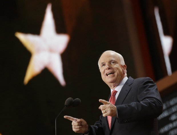 McCain joins GOP slam on Obama's foreign policy, defense