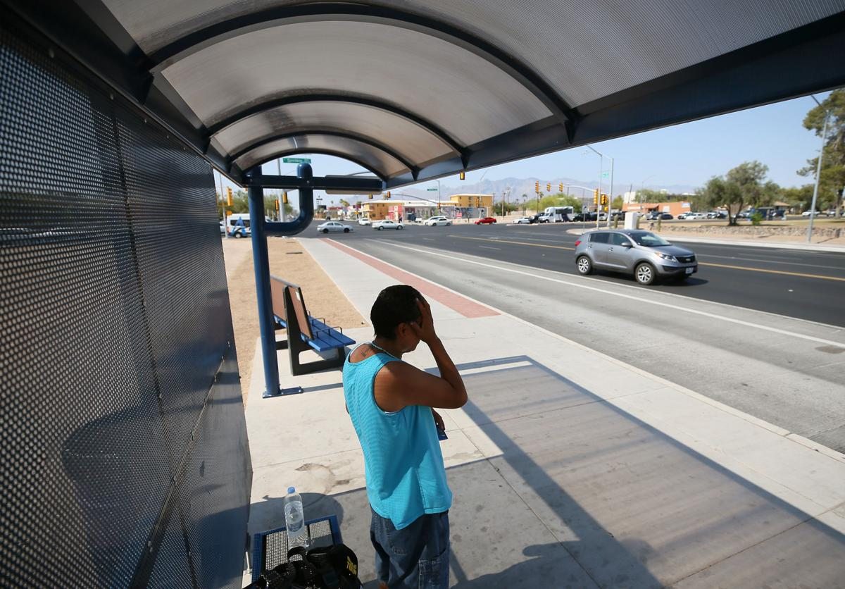 Road Runner: Tucson, county add bus stop shelters in time