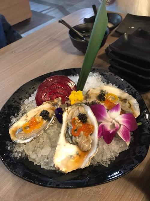 Customers At Izumi Anese Restaurant 3655 E Sdway Are Limited To One Serving Of Oysters And Crab Legs