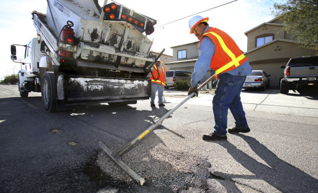 Tucson street repairs