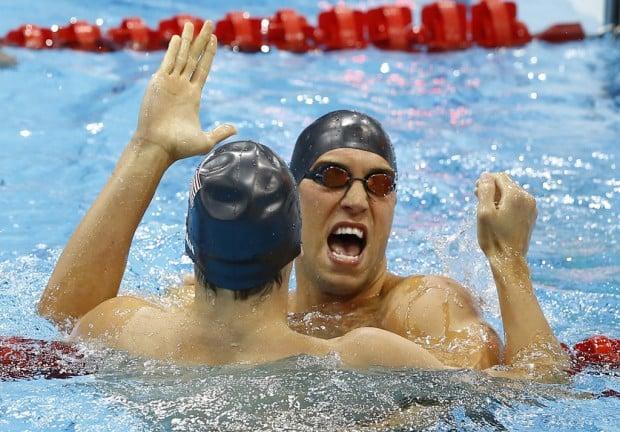 Olympics: Swimming: Grevers, Thoman finish 1-2
