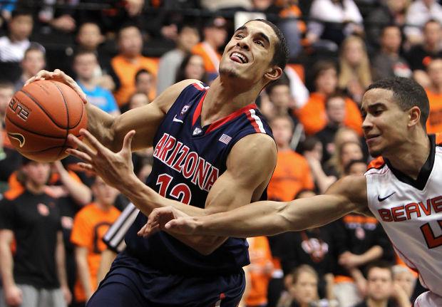 Arizona Wildcats at Oregon State Beavers basketball